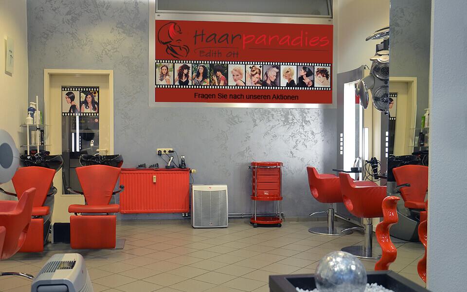Einblick in unseren Salon